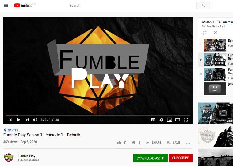 Fumble Play
