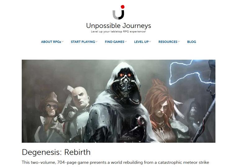 Unpossible Journeys