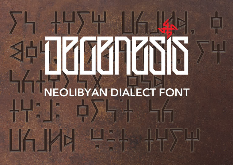NeolibyanDialect Font
